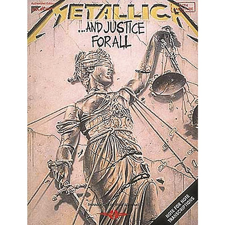 Hal Leonard Metallica: . . . And Justice For All Guitar Tab Songbook