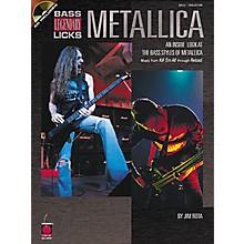 Cherry Lane Metallica Bass Guitar Legendary Licks Book with CD