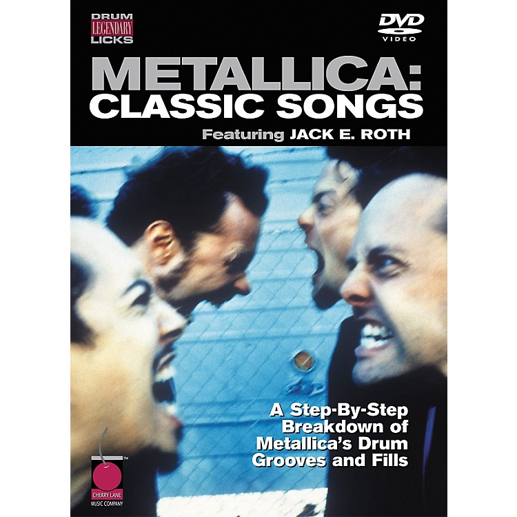 Cherry Lane Metallica: Classic Songs - Drum Legendary Licks DVD