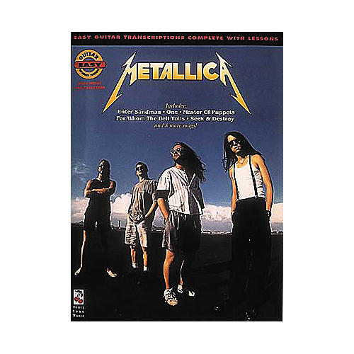 Cherry Lane Metallica Easy Guitar Tab Songbook
