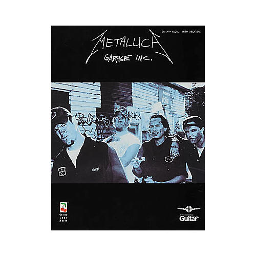 Hal Leonard Metallica Garage Inc. Guitar Tab Book