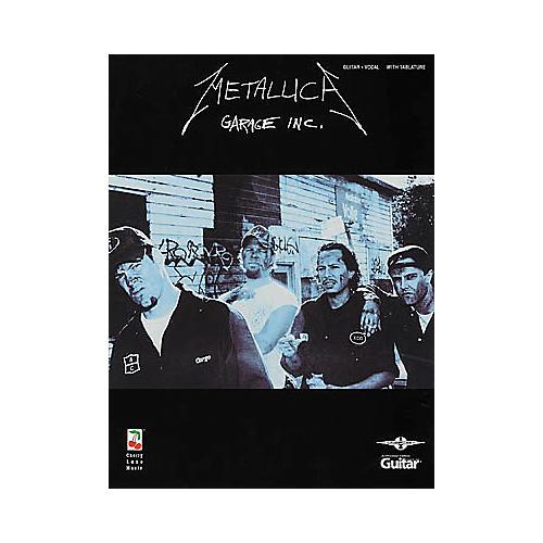 Hal Leonard Metallica Garage Inc. Guitar Tab Book-thumbnail