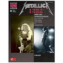 Cherry Lane Metallica Guitar Legendary Licks 1983-1988 Book/Online Audio