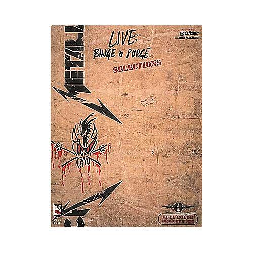 Hal Leonard Metallica Live Binge and Purge Guitar Tab Songbook