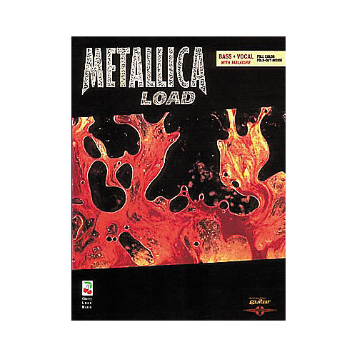 Cherry Lane Metallica Load Bass Guitar Tab Songbook
