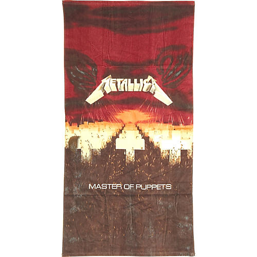 Gear One Metallica 'Master of Puppets' Beach Towel