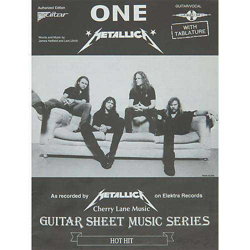 Cherry Lane Metallica: One (Sheet Music)-thumbnail