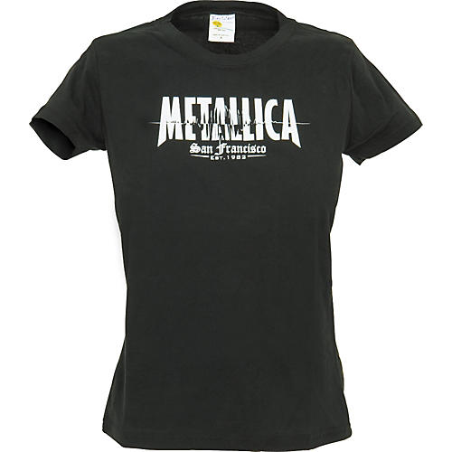 Bravado Metallica Quake Girls T-Shirt