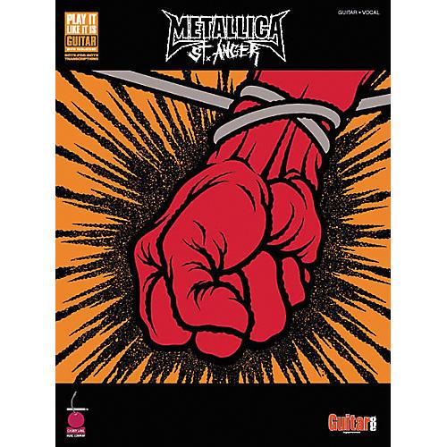 Hal Leonard Metallica St. Anger Guitar Tab Songbook
