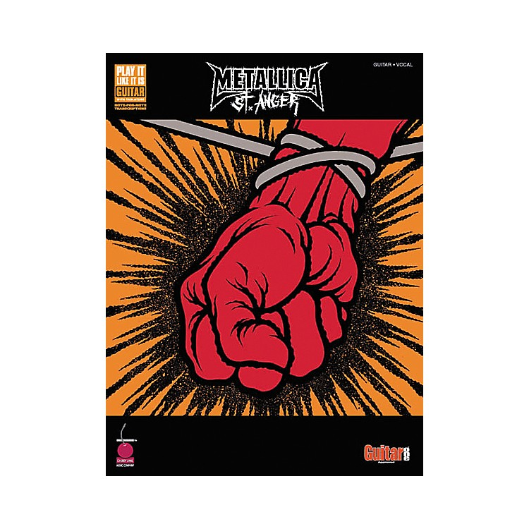 Hal LeonardMetallica St. Anger Guitar Tab Songbook