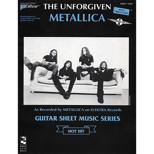 cherry lane metallica the unforgiven guitar tab musician 39 s friend. Black Bedroom Furniture Sets. Home Design Ideas