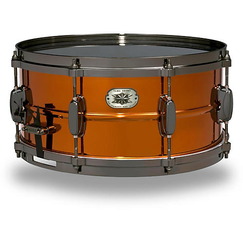 Tama metalworks limited edition steel snare musician 39 s for Yamaha stage custom steel snare drum 14x6 5