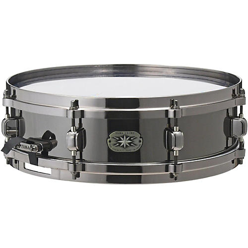 Tama Metalworks MT1455DBN Snare with Evans Black Chrome Head