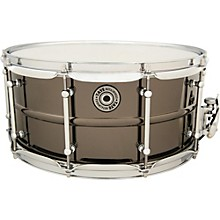 Taye Drums Metalworks Vintage Brass Snare 14 x 6.5 Black Nickel Finish