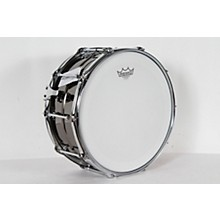 Taye Drums Metalworks Vintage Brass Snare Level 2 14 x 6.5, Black Nickel Finish 190839103192