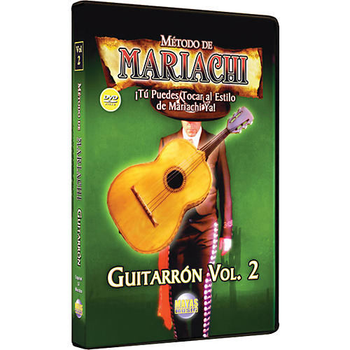 Mel Bay Metodo De Mariachi Guitarron DVD, Volume 2 - Spanish Only
