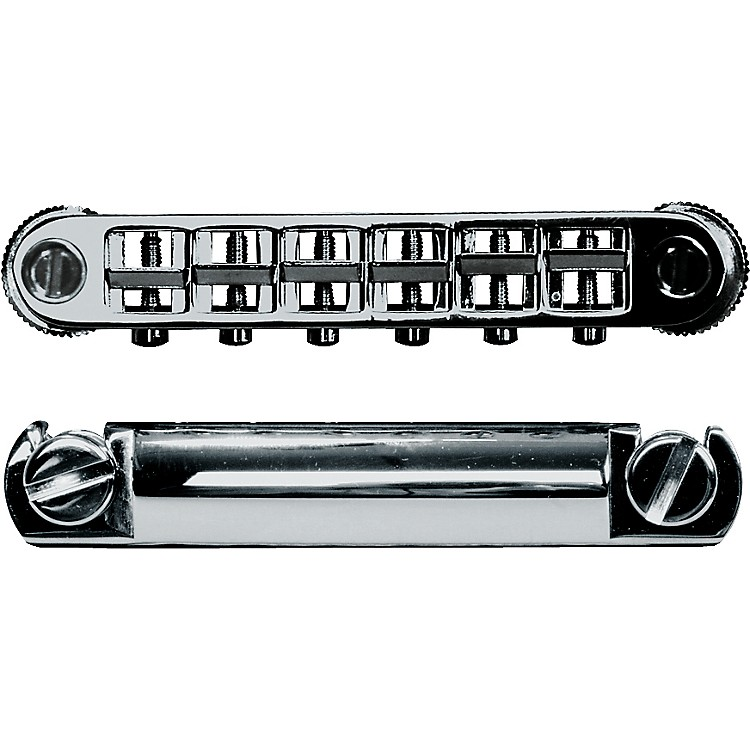 ToneProsMetric Locking Tune-o-matic/Tailpiece Set (large posts)Black