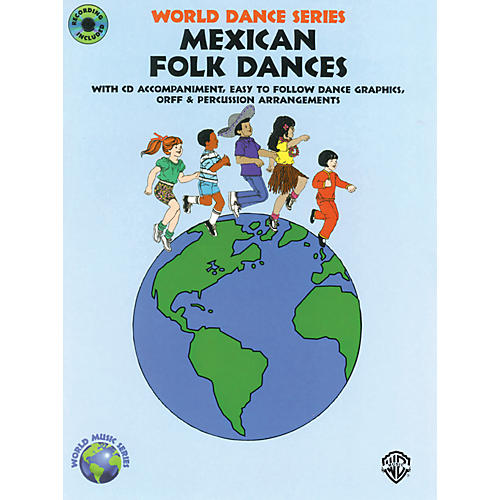 Alfred Mexican Folk Dances Book and CD