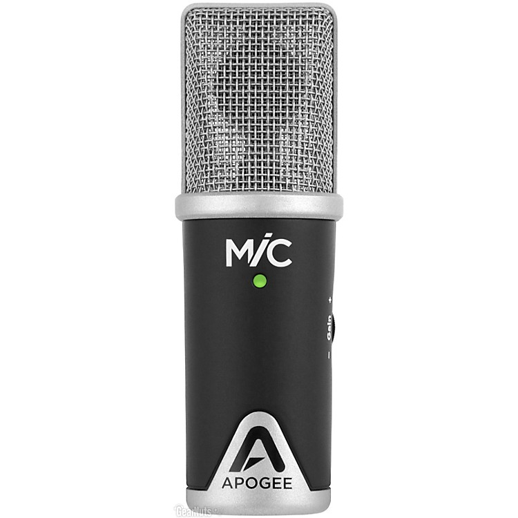Apogee MiC USB Microphone for iPad, iPhone and Mac