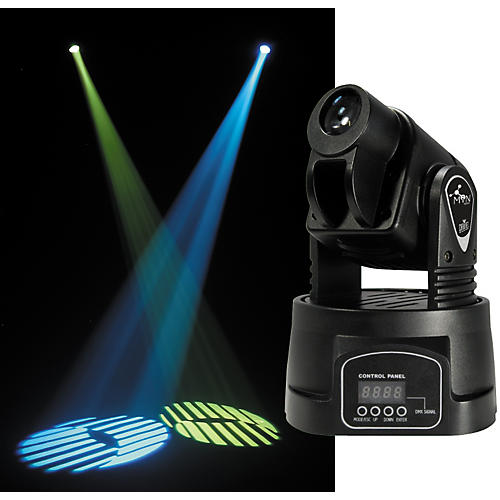 CHAUVET DJ MiN Spot DMX LED Moving Yoke Fixture-thumbnail
