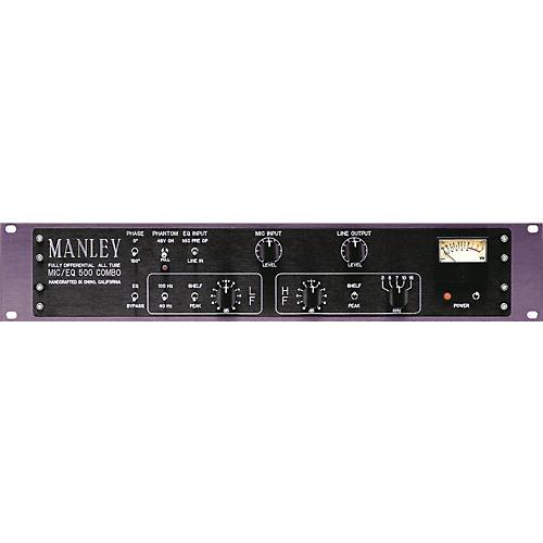 Manley Mic/EQ 500 Combo