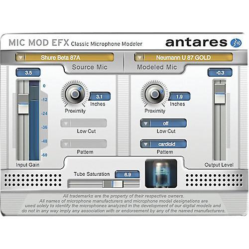 Antares Mic Mod EFX (VST/ AU/ RTAS) Software Download-thumbnail