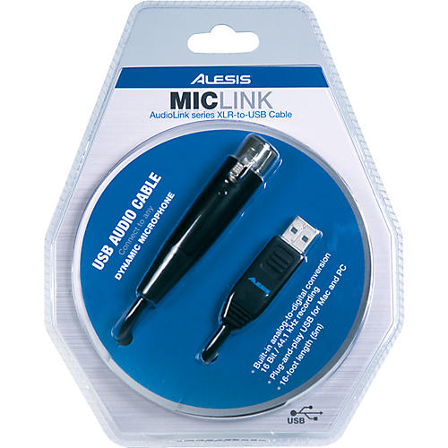 Alesis MicLink USB Audio Interface Cable