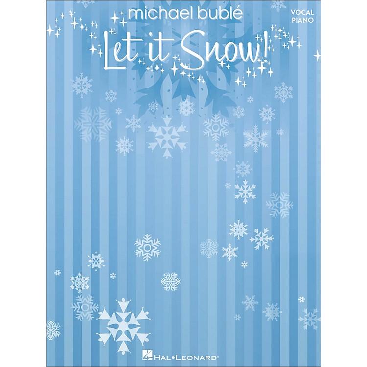 Hal LeonardMichael Buble - Let It Snow (Vocal/Piano)