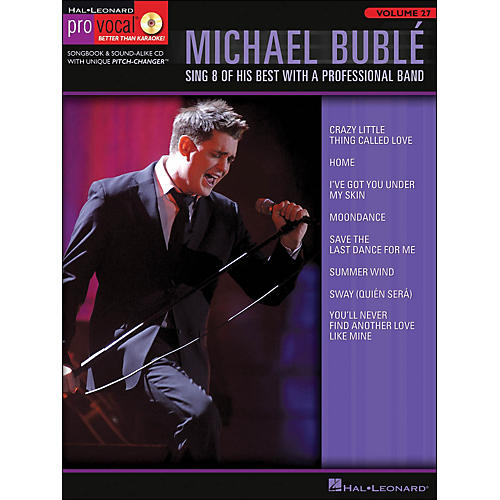 Hal Leonard Michael Buble - Pro Vocal Series Volume 27 Book/CD