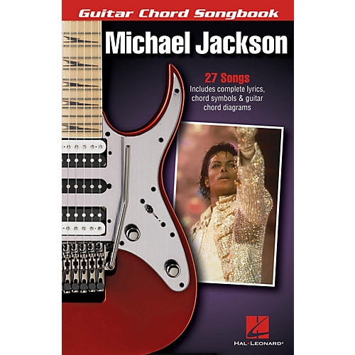 Hal Leonard Michael Jackson - Guitar Chord Songbook Guitar Chord Songbook Series Softcover by Michael Jackson-thumbnail