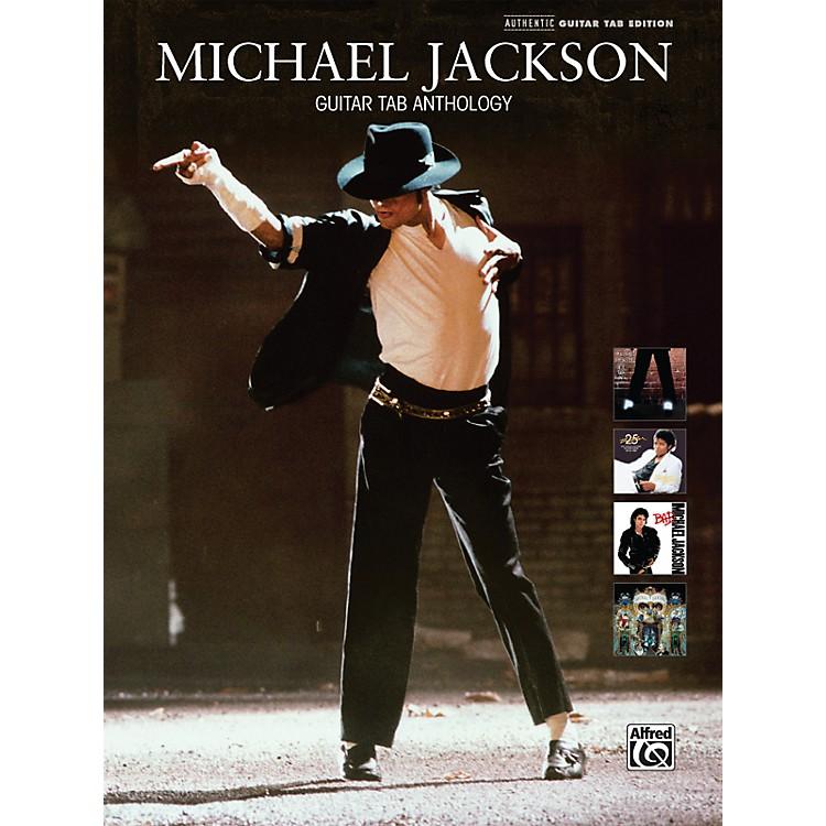 AlfredMichael Jackson - Guitar Tab Anthology (Book)