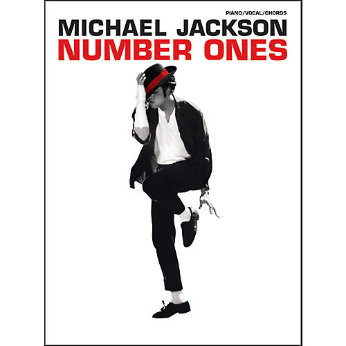 Alfred Michael Jackson - Number Ones for Piano, Vocal, and Guitar Book