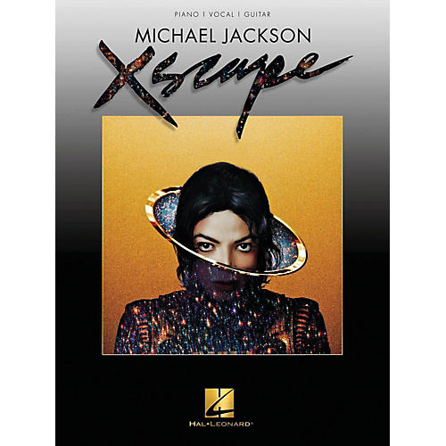 Hal Leonard Michael Jackson - Xscape Piano/Vocal/Guitar
