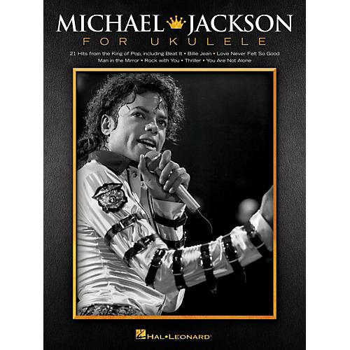 Hal Leonard Michael Jackson For Ukulele