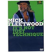 Music Sales Mick Fleetwood It's Not Just Technique Drum DVD