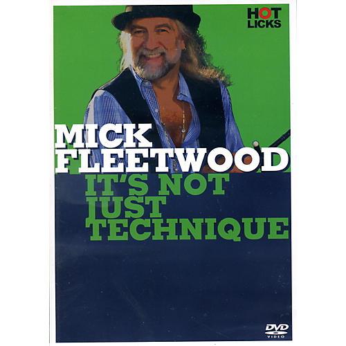 Music Sales Mick Fleetwood It's Not Just Technique Drum DVD-thumbnail