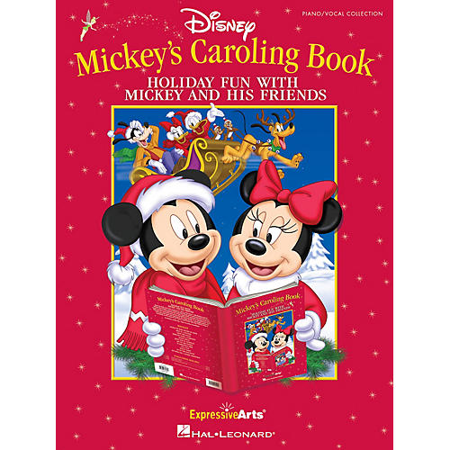 Hal Leonard Mickey's Caroling Book (Holiday Fun With Mickey Mouse and His Friends) Singer 10 Pak by Tom Anderson-thumbnail