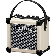 Roland Micro Cube GX 3W 1x5 Battery Powered Guitar Combo Amp Level 1 White
