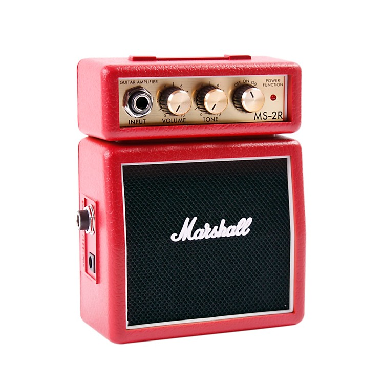 Marshall Micro Stack 1W Guitar Combo Amp Red