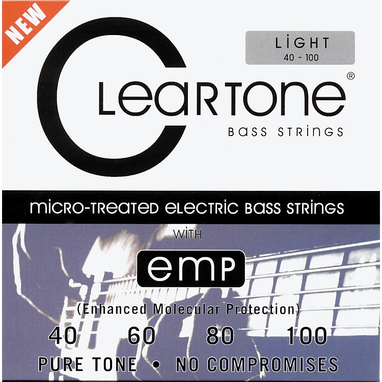 CleartoneMicro-Treated Light Electric Bass Guitar Strings