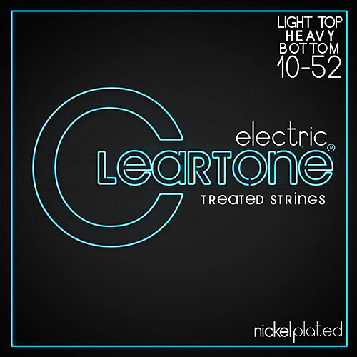 Cleartone Micro-Treated Light Top/Heavy Bottom Electric Guitar Strings-thumbnail