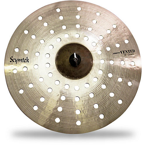 Scymtek Cymbals Micro-Vented Crash Cymbal