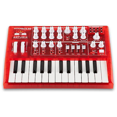 Arturia MicroBrute Analog Synthesizer RED Edition-thumbnail