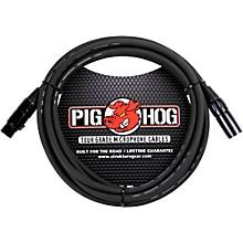 Pig Hog Microphone Cable 8mm XLR(M) to XLR(F) 10 ft.