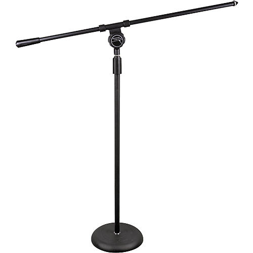 Musician's Friend Microphone Stand with Fixed Boom-thumbnail