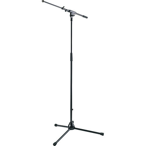 K&M Microphone Stand with Telescopic Boom Arm