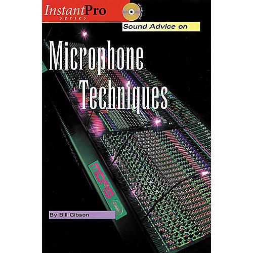 Hal Leonard Microphone Techniques (Book/CD)-thumbnail