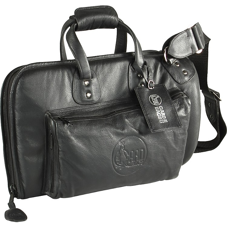 Gard Mid-Suspension Cornet Gig Bag 3-MLK Black Ultra Leather