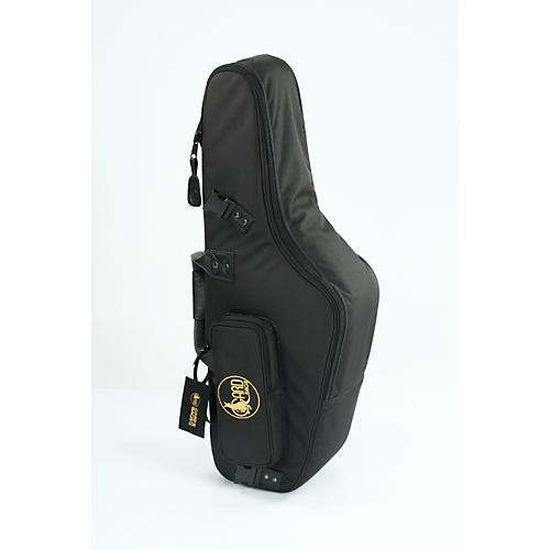 Gard Mid-Suspension EM Alto Saxophone Gig Bag 104-MSK Black Synthetic w/ Leather Trim