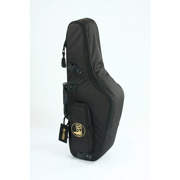 Gard Mid-Suspension EM Alto Saxophone Gig Bag 104-MLK Black Ultra Leather